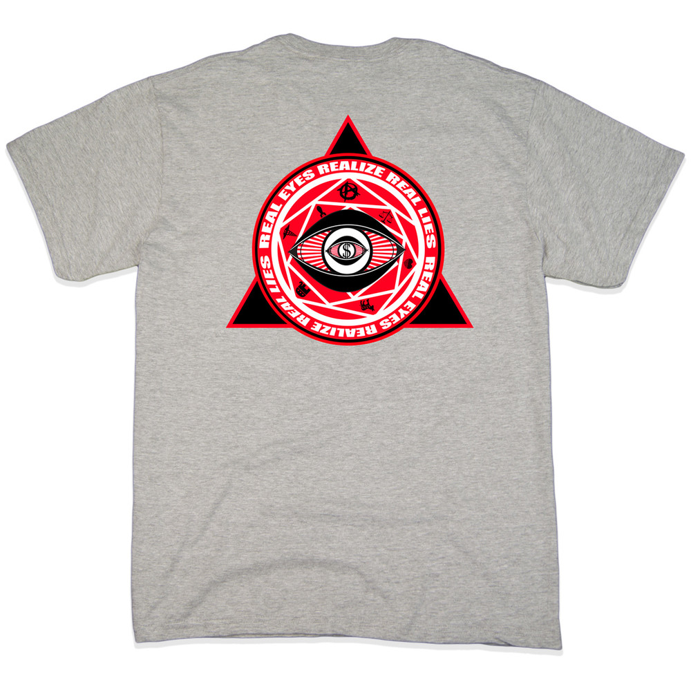 Grey propaganda t shirts at for Shirts with graphics on the back