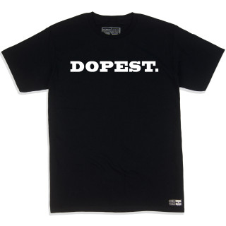 Dopest Black Graphic Tee | Skate Clothing | Tagless 100% Ringspun Cotton | Shop Mind Plugs Streetwear