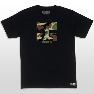 This camouflage colored black graphic tee is clean, sleek & goes hard. With the Mind Plugs face logo blasted on the front you can't go wrong with this purchase. The 5.5-ounce, 100% ring spun cotton material makes this t-shirt a great everyday wear. The shirt is made tag-less for added comfort. The sleeves are a good length and not too short. Whatever rad action sport activity you are doing this camo t-shirt will definitely complete the sesh. Mind Plugs is soon to be the Best Action Sports Clothing in the Game!