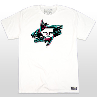 This Mind Plugs Digital Breakdown white graphic tee is a classic design with a unique twist. The placement and slight addition of black, teal and maroon colors in the print make this tee clean and easy to match with. The 5.5-ounce, 100% ring spun cotton material makes this t-shirt a great everyday wear. The shirt is made tag-less for added comfort. The sleeves are a good length and not too short. Whatever rad action sport activity you are doing this tee will definitely complete the sesh. Mind Plugs is soon to be the Best Action Sports Clothing in the Game!
