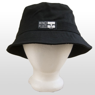Keep it classy with this All Black Mind Plugs bucket hat. Dress it up or dress it down, either way this 100% cotton, lightweight and comfortable bucket hat is bound to look good. One Size Fits Most