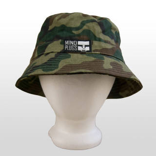 Add this functional yet fashionable Camouflage Mind Plugs bucket hat to your outfit to add instant style. You can never go wrong with classic Camo! This 100% cotton, lightweight and comfortable hat is perfect for any occasion or outfit! Once Size Fits Most