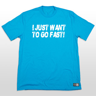 Who doesn't want to just go fast! This blue graphic t shirt is simple but 100% true. Wether you are shredding the sky or riding your dirtbike all you want to do is GO FAST! The 4.5-ounce, 50/25/25 poly/combed ring spun combed cotton/rayon material is very comfortable and great for everyday wear. The shirt is made tagless to added comfort so you can send it without that itchy tag on your neck. #ijustwanttogofast