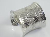 Silver Ancient Myan Cuff