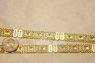 10 Yard Pack  1.5 cm Rectangle Diamond Trim