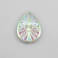 10 Pieces - 20 x 30 mm Teardrop Stone Crystal AB