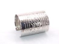 Silver Spartan Cuff