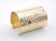 Gold Spartan Cuff