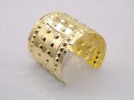 Gold Rugged Cuff