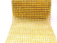 Per Yard Netted Plastic Trim - Gold