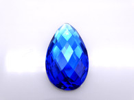 50 Pieces - 16 x 30 mm Teardrop Stone - Blue
