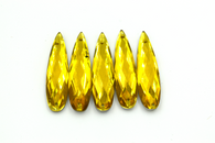 50 Pieces - 8 x 28 mm Teardrop Stone Gold