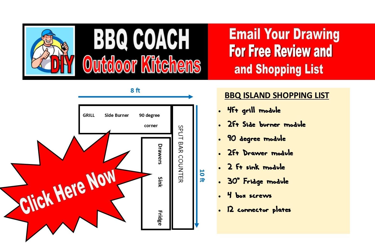 Bbq Coach Diy Outdoor Kitchens