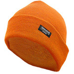 Hot Shot Insulated Cuff Cap 2-Ply Blaze Orange