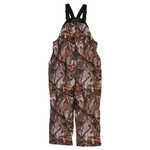 Gamehide Deer Camp Bib Woodlot Camouflage Large
