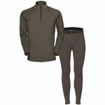 HECS Base Layer Suit Green Medium