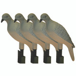 Mojo Clip On Dove Decoys 4 pk.