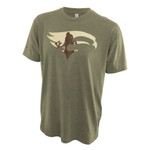 Elevation HUNT Tee Military Green Large