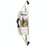 Bear Scout Bow Set Neon Green 8-13lbs. RH/LH
