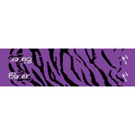Bohning Tiger Arrow Wraps Purple 4 in. 13 pk.