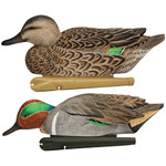 Avian X Top Flight Duck Decoy Green Wing Teal Floater 6 pk.