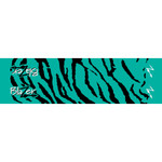 Bohning Tiger Arrow Wraps Teal 4 in. 13 pk.