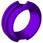 G5 Meta Pro Peep Purple Large Hunter 1/4 in.