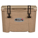 Grizzly RotoMolded Cooler Sandstone 15 qt.