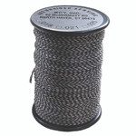 BCY 62 Braided Center Serving Black/White .018 100 yds.