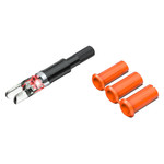Clean-Shot Nock Out Lighted Nocks Red 3 pk.