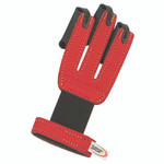 Neet NASP Youth Shooting Glove Red Youth Small