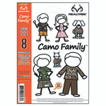 SEI Camo Family Realtree Decal 8 pc.