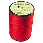 Brownell No. 4 Nylon Serving Red .021 100 yds.