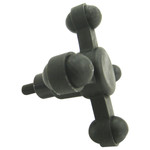 Bow Jax Max Jax Stabilizer Module Black 2 in.