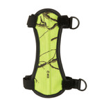 October Mountain Arm Guard Chartreuse Camo