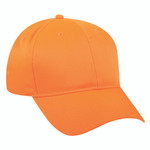 Outdoor Cap Mid Profile Hat Blaze Orange Youth Size
