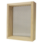 Rickard Deluxe Sifter 7in x 9in 1/4in Mesh Wood Frame
