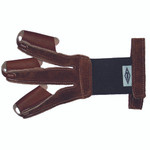 Neet FG-2H Shooting Glove Calf Hair Tips Large