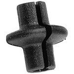 Pine Ridge Kisser Button Slotted Black 1 pk.