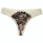 Wilderness Dreams Lace Thong Mossy Oak Country X-Large