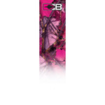 Bohning HD Arrow Wrap Pink Camouflage 4 in. 13 pk.