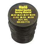 BCY Halo Serving Black .021 75 yds.