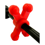 BowJax SlimJax Cable Rod Dampener Red