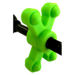 BowJax SlimJax Cable Rod Dampener Neon Green