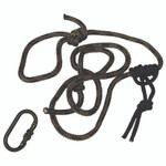 Summit Linesmans Rope 8 ft. w/ Carabiner