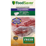 FoodSaver GameSaver Bag Rolls Expandable 11 in. x 18 ft. 2pk