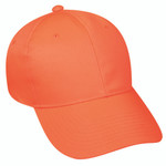 Outdoor Cap Mid Profile Hat Blaze Orange One Size