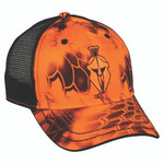 Outdoor Cap Mesh Back Cap Kryptek Inferno/Blaze
