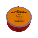 BCY Size 23 Loop Rope Neon Orange 100 ft.