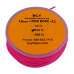 BCY Size 23 Loop Rope Pink 100 ft.